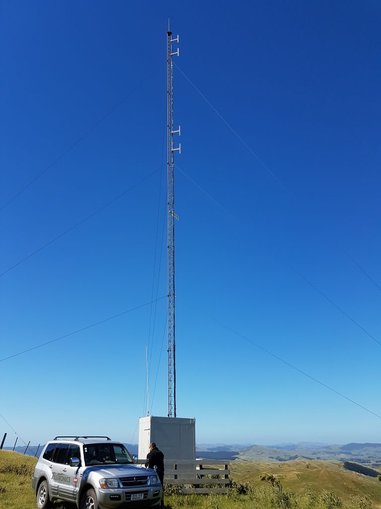 Airtel Bute Mast Being Serviced by Teletronics.